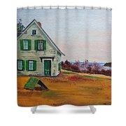 Trehaus Acadia Maine Shower Curtain