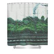 Trein Shower Curtain
