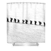 Trekking - Id 16235-142817-3386 Shower Curtain