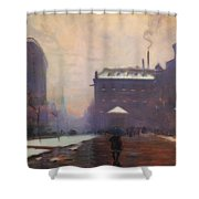 Tremont And Boylston Streets, Boston Shower Curtain