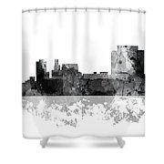 Trenton New Jersey Skyline Shower Curtain