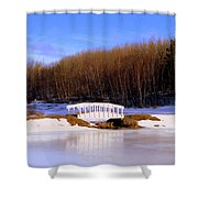 Trenton Park - Landscape Shower Curtain