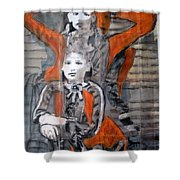 Tres Nobles Shower Curtain