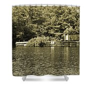 Trestle End Shower Curtain