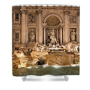 Trevi Fountain Shower Curtain