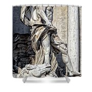 Trevi Fountain - Rome Shower Curtain
