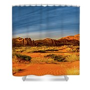 Tri-pan-middle Shower Curtain