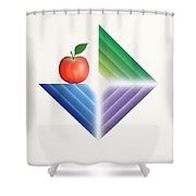 Triangle...1015 Shower Curtain