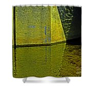 Triangles, Rectangles Lines And Refletcions  Shower Curtain