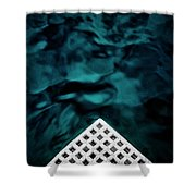 Triangular Abstract Shower Curtain