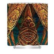 Tribal Ancestors Shower Curtain