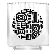 Tribal Ball- Art By Linda Woods Shower Curtain