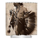 Tribal Dancer Shower Curtain