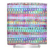 Tribal Pattern 03 Shower Curtain