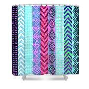 Tribal Pattern 04 Shower Curtain