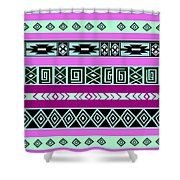Tribal Pattern 06 Shower Curtain
