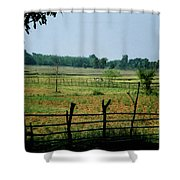 Tribal Village Shower Curtain