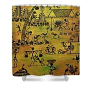 Tribals I Shower Curtain