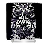 Tribeowl Reverse Shower Curtain