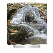 Tributary Of Lost River - Woodstock New Hampshire  Shower Curtain