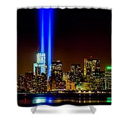 Tribute In Light From Bayonne Shower Curtain