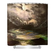 Tribute To Aivazovsky Shower Curtain