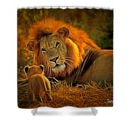 Tribute To Cecil Shower Curtain