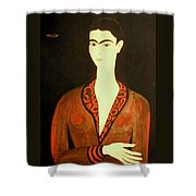 Tribute To Frida Shower Curtain