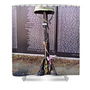Tribute To Heros Shower Curtain