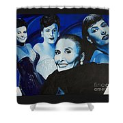 Tribute To Lena Horne Shower Curtain