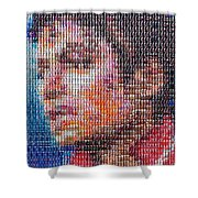 Tribute To The King Of Pop V2 Shower Curtain