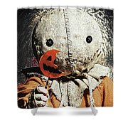 Trick R Treat Shower Curtain