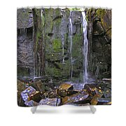 Trickle Wall Shower Curtain