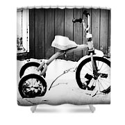 Tricycle Shower Curtain