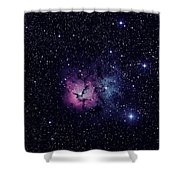 Trifid Nebula M20 Shower Curtain