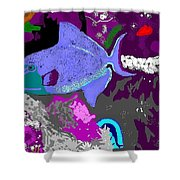 Trigger Fish Shower Curtain