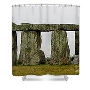 Trilithons Shower Curtain