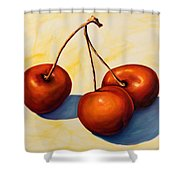 Trilogy Shower Curtain by Shannon Grissom
