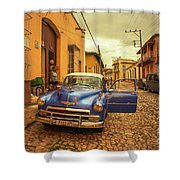 Trinidad Chevy Blues  Shower Curtain