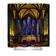 Trinity Chapel Salisbury Cathedral Shower Curtain