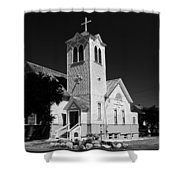 Trinity Church 1871 Shower Curtain