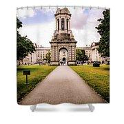 Trinity College Dublin  Shower Curtain