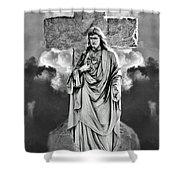 Trinity Of Stone Shower Curtain