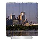Trinity River Dallas 3 Shower Curtain