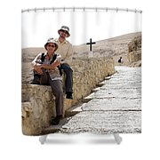Trip To Jericho Shower Curtain