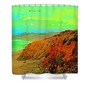 Trippin' To Cambria Shower Curtain