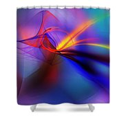 Tripping The Light Fantastic Shower Curtain