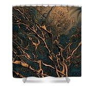 Trippy Tree Shower Curtain