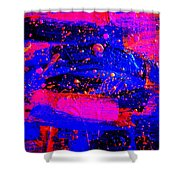 Triptych 1 Cropped Shower Curtain