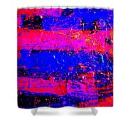 Triptych 3 Cropped Shower Curtain
